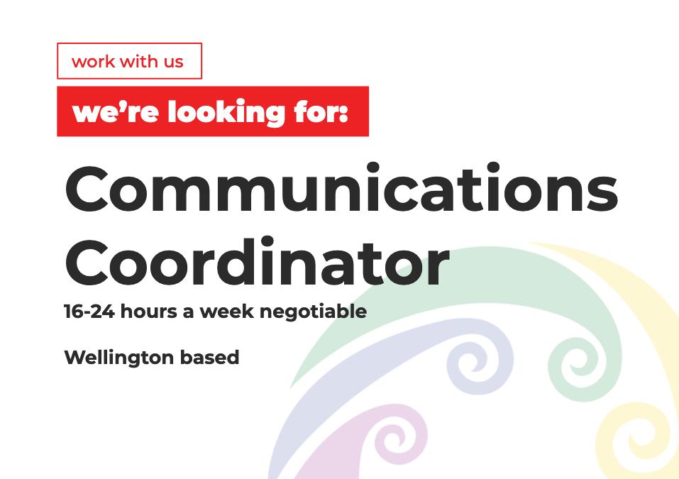 Seeking Communications Coordinator
