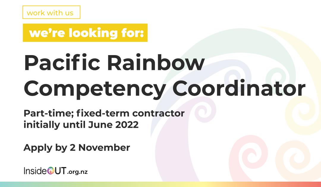 Seeking Pacific Rainbow Competency Coordinator